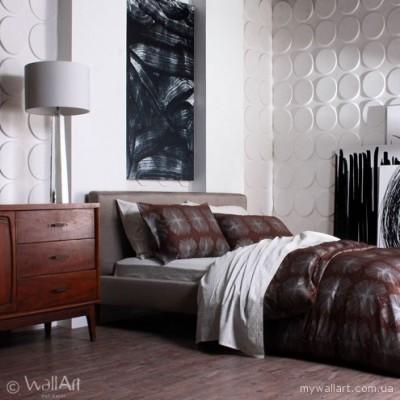 Сучасний інтер`єр квартири з 3d панелями WallArt